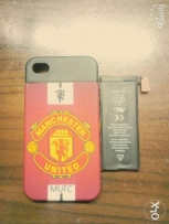 Cover and Battery Iphone 4