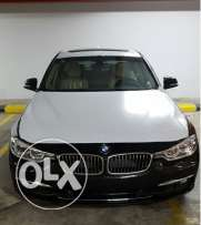 BMW 320 model 2017 luxury zero black color
