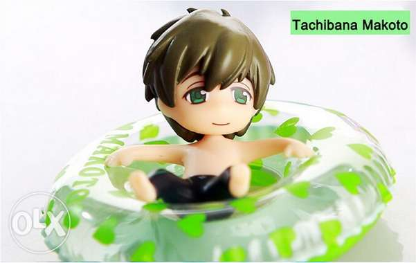 Iwatobi Swim Club Chibi Figures