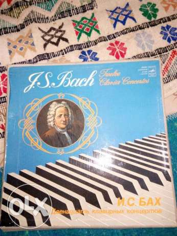 (Rare Vinyl (J.B.Bach)New Condition_Years (1685) & (1750