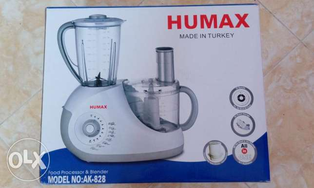 Kitchen machine food processor and blender turkish made all new