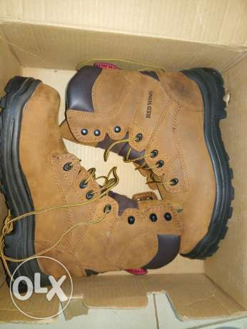 Safety Red Wing حذاء سيفتى
