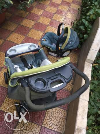 Stroller and Car seat SET الزمالك -  8