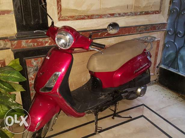 Scooter Fiddle 2 150cc model 2015