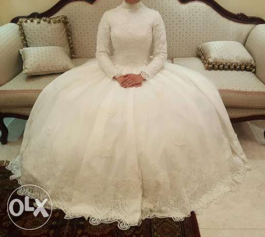 New wedding dress with 3M. Extension