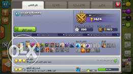 Claash Of Clans Town Hall 8 Max