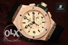 HUBLOT watch - first copy - Rapper strap