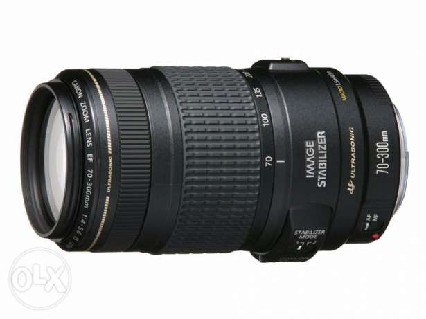 Canon Lens 70-300 MM Full Frame IS USM New with Box مدينة نصر -  3