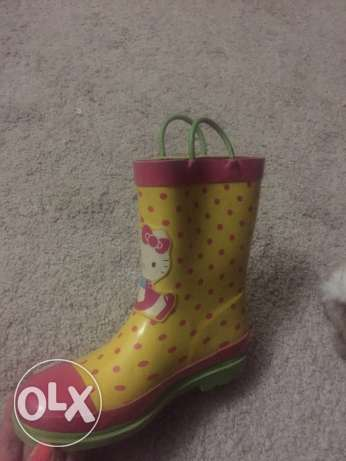 hello kitty girls boots from USA original