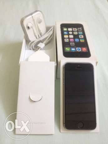 Iphone 5s Balck&Gray
