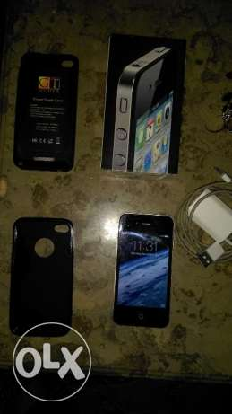 i phone 4 for sale with all its items الإسكندرية -  2