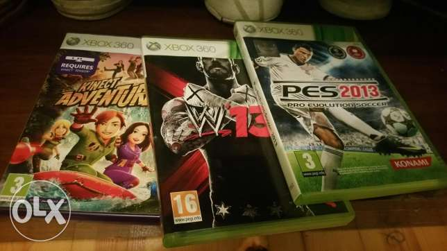 3 xbox 360 games in good condition