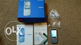 Nokia C3-01 - Silver (Vodafone) Mobile Phone Excellent Condition