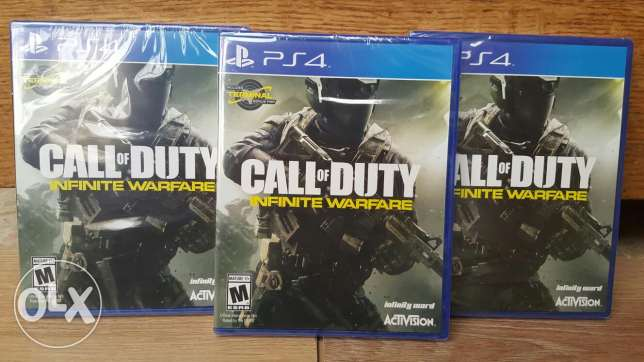New | Region All | Call of Duty Infinite Warfare PS4 (Delivery)
