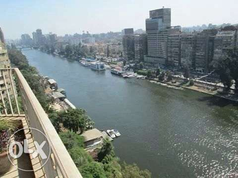 nile & gzeira club view at south of zamalek 400m2 app الزمالك -  1