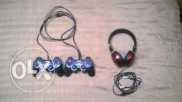 headphone and pc joystick