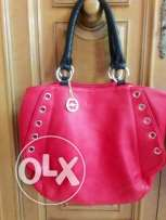 New red club aldo bag