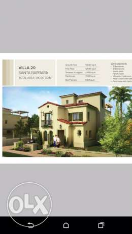 Mivida separate villa 500m fully finished for sale
