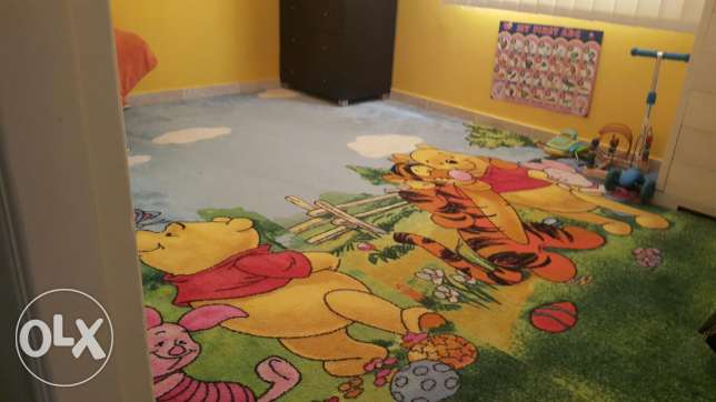 Carpet for kids room