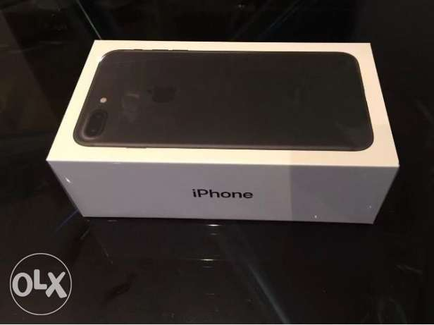 Matte black Apple iPhone 7 Plus..new&sealed