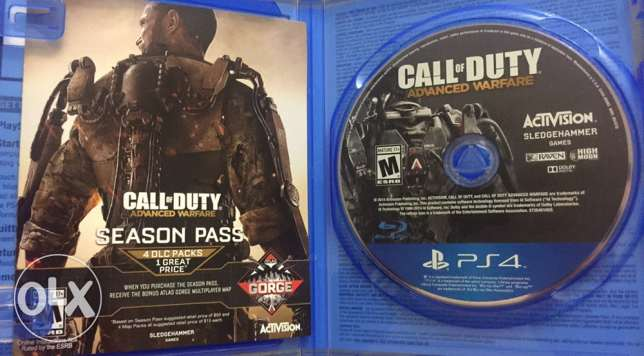 Call of Duty advanced warfare playstation 4 مدينة نصر -  3