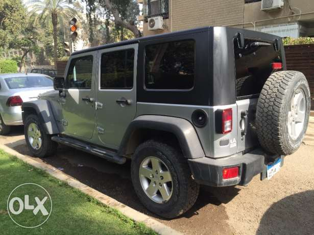 Jeep Wrangler 2010, 82,000km in Factory Condition المعادي -  7