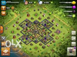 My COC TH9 account