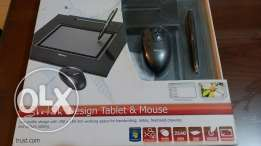 "Design Tablet & Mouse ""Trust"" جرافيك تابليت وماوس ترست"