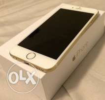 iphone 6s 64 gb Gold Mint condition ايفون