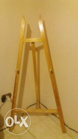 Drawing And Painting Stand (ستاند رسم خشبي)