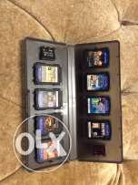 PSVITA 3G/WIFI with 8 different games and 2 memory cards