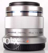 Olympus Lens 43 MM F1.8 Mirrorless Micro Four Third New Without Box