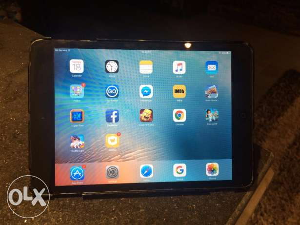 Apple iPad mini 32GB (WiFi + Cellular) + Smart Case مدينة نصر -  1