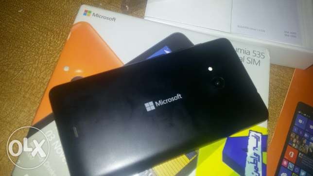 Microsoft Lumia 535 updated to os 10 العبور -  2