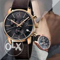 Calvin Klein - K2G276G3 City Grey Brown Chronograph Watch