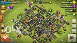 كلاش تاون 9ماكس Clash of clans