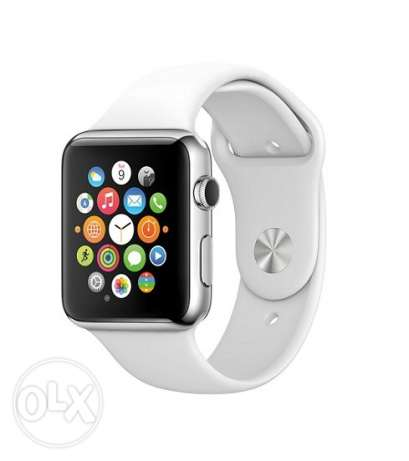 Smart Watch with SIM Card and Memory Card ساعة ذكية