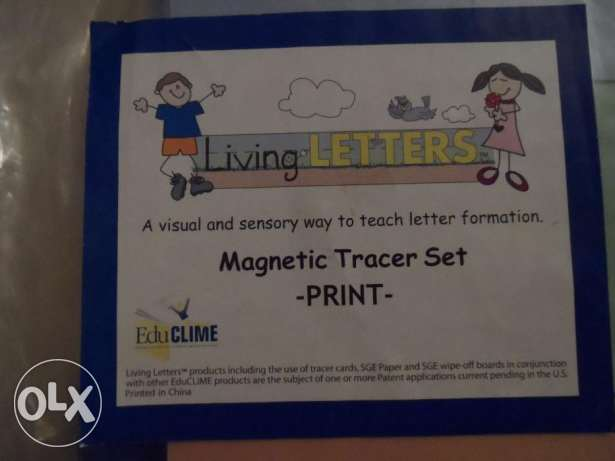 Living Letters Tracing ABC School Kids American English KG USA