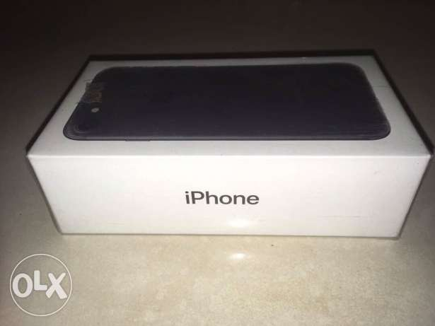 New iphone 7 black 32GB