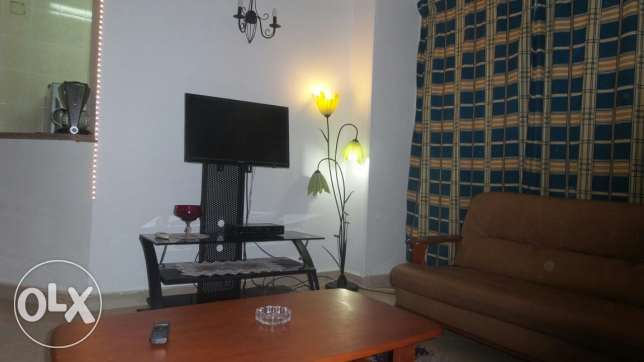 furnished apartment for holidays +swimming pool &garden.