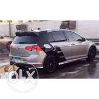 GOLF 7 2016 with R BODY KIT only in Egypt