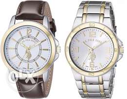 Original Set of 2 Watches US Polo for Men from USA