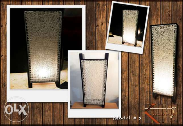 Knabesh. Handmade wood lamp مصر الجديدة -  2