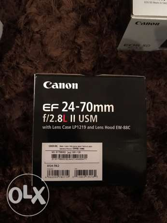 Canon Professional Kit Body+Lens+Flash المعادي -  5