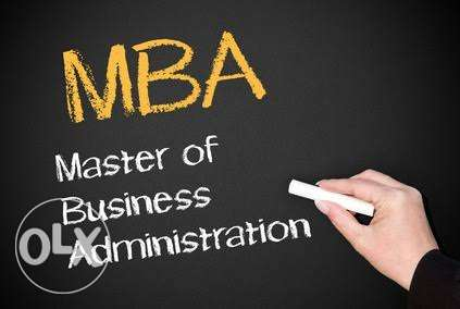 MBA instructor, pass your exam with high grade