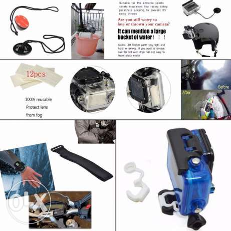 Go pro kit accessories القاهرة -  4