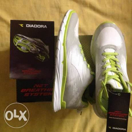 Diadora running shoes net breathing size 37 for sale