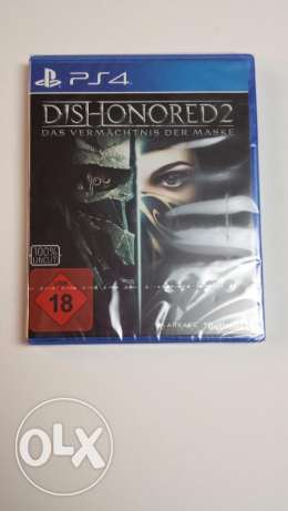 Dishonored 2 for PS4 New - Sealed