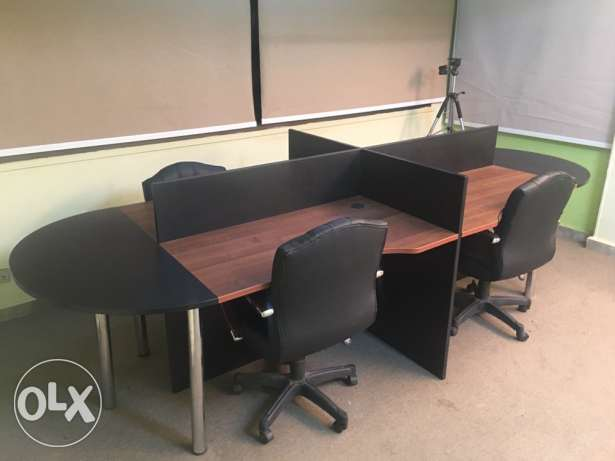 meeting or work table