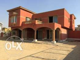 excellent Semi Finished Villa For Sale Palm Hills Compound